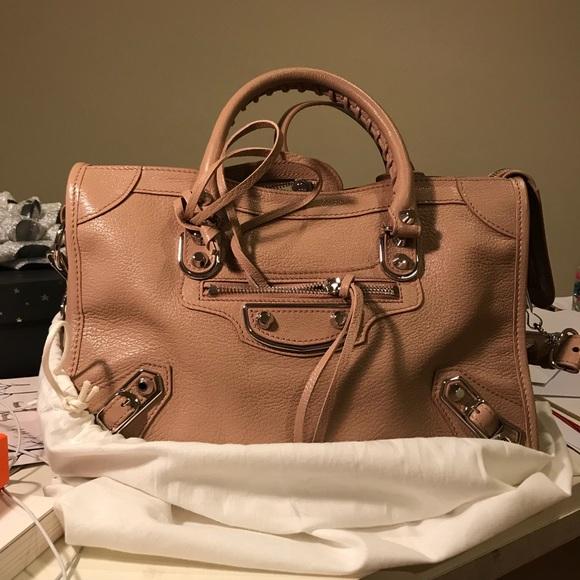 Balenciaga Bags | City Baby Rust Pink